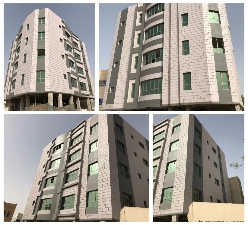 Green-Innova | 5 Storey Residential Building at Zinj